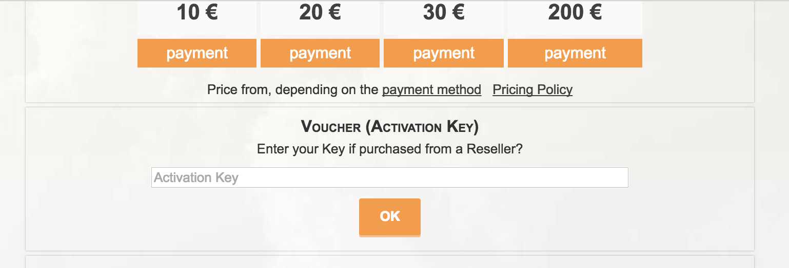 Activate 1Fichier Premium account